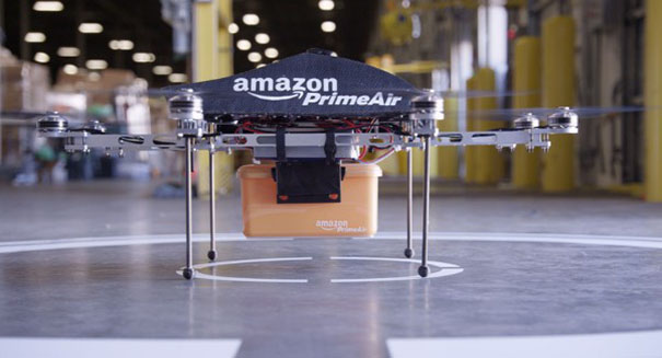 Amazon Make first commercial drone delivery