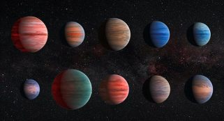 A brown star discovered to have water carrying clouds in its atmosphere
