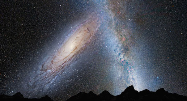 Andromeda is not bigger than the Milky Way after all, study reports