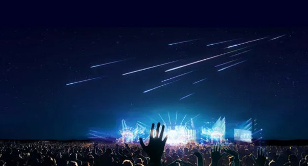 Artificial meteor showers will soon be for sale