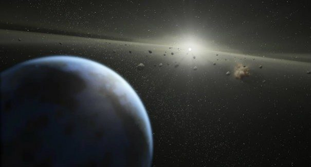 Interstellar asteroid different from any seen in our solar system