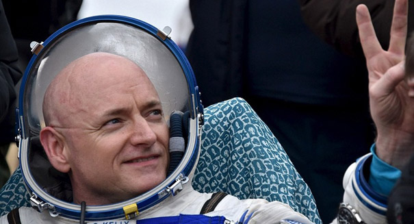 Astronauts manage stress to a superhuman degree
