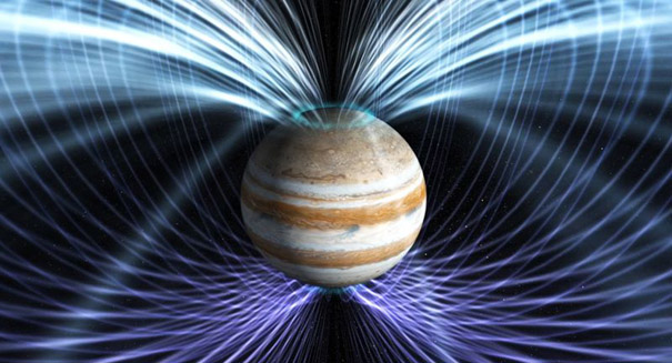 Auroras at Jupiter's poles act independently