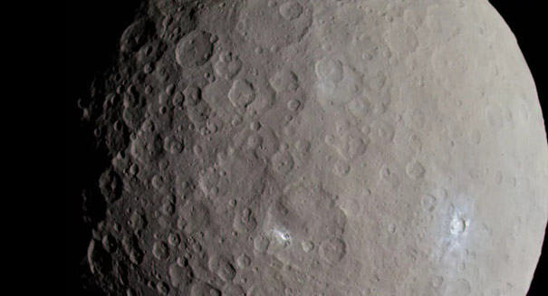 Ceres' surface features were likely created by interior activity