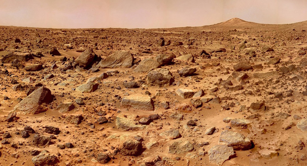 Clean ice sheets sit right below Mars' surface, study reports