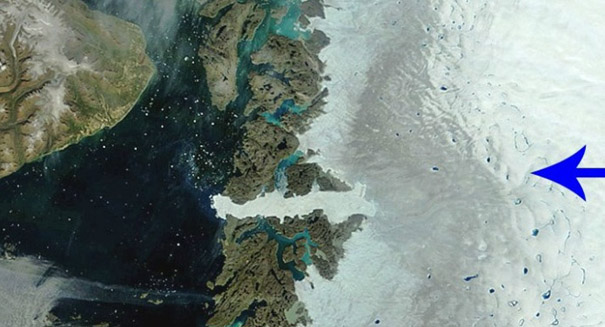 Dark Zone of Greenland melting faster than we thought