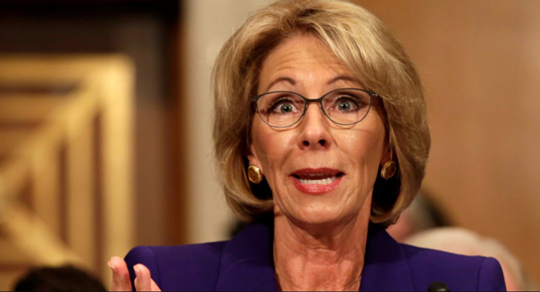 States, consumer groups sue Betsy Devos over delay on student-loan protections