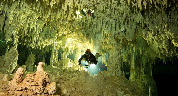 Divers in Mexico find world's longest underwater cave