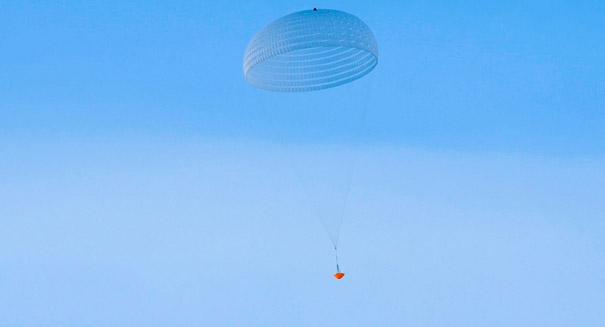 ESA tests giant parachute for upcoming ExoMars mission