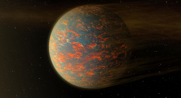 Spitzer telescope finds hot super-Earth 55 Cancri e likely has an atmosphere