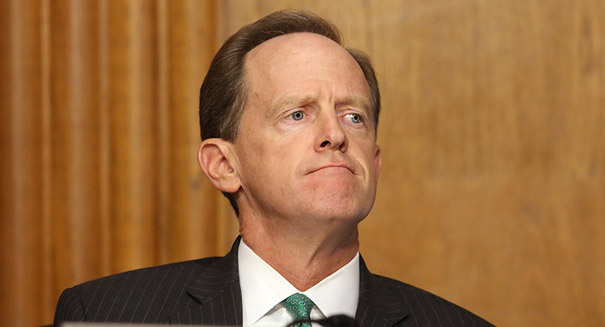 GOP Sen. Toomey calls for impeaching Pennsylvania Supreme Court