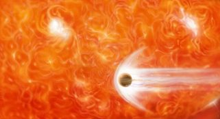 Giant planet found orbiting small star