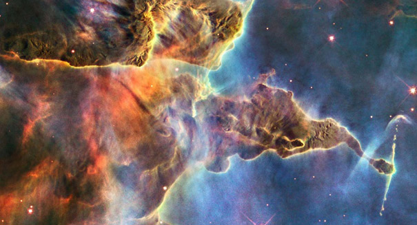 Hubble celebrates 28 years with beautiful image of Lagoon Nebula