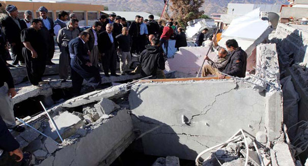More than 450 killed in major Iran earthquake