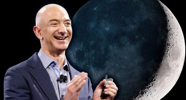 Jeff Bezos wants to make human settlements on the moon happen