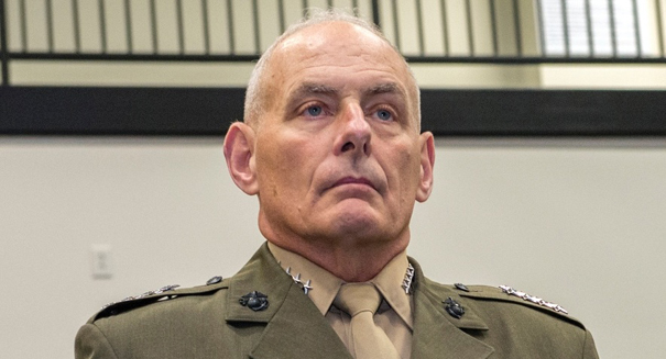 Trump names Gen. John Kelly as new chief of staff