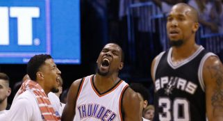 Draymond Green picks fight with Kevin Durant