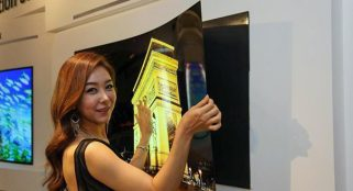 LG releases a TV as thin as an ATM card