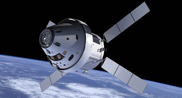 Lockheed Martin begins construction of Orion space capsule