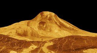 Computer simulation suggests ancient Venus had a small ocean