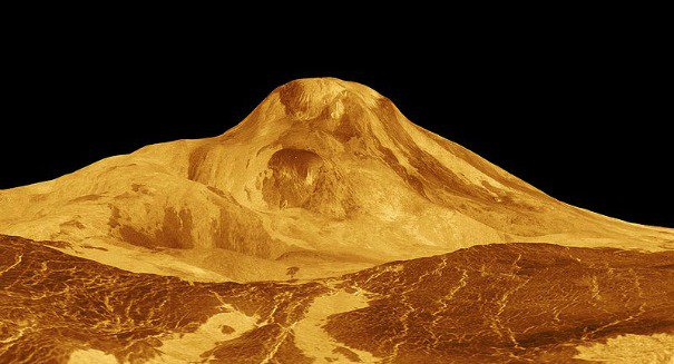 Giant gravity wave spotted on Venus