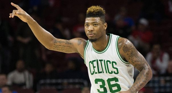 Marcus Smart not impressed by Jimmy Butler tough talk