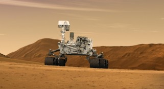 As Curiosity prepares to drill, team receives major award