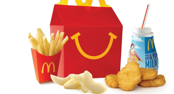 McDonald's trying to get healthier for kids
