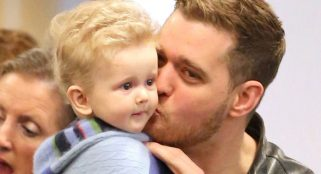 Michael Bubble's son returns to Argentina after cancer treatment