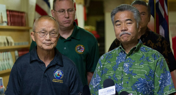 Mistaken missile alert in Hawaii sparks panic