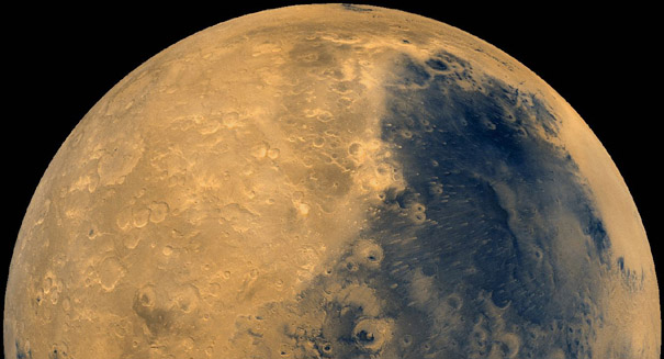 Movement of sediment on ancient Mars may not have required water