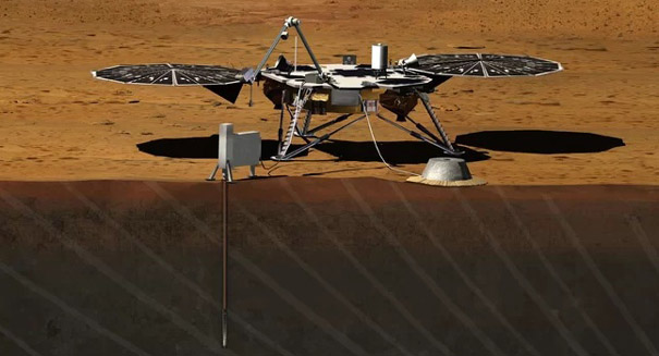 NASA's lander InSight will probe the interior of the Red Planet