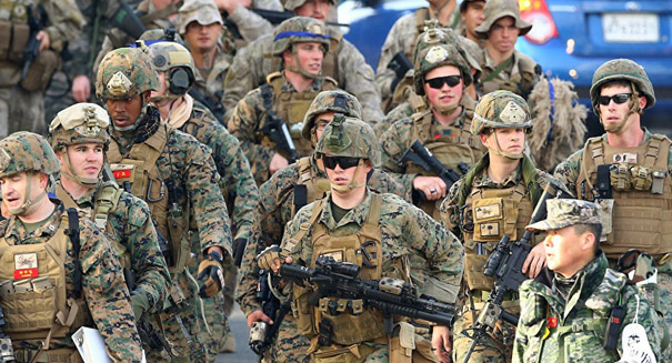 Pentagon confirmed they had called off a major joint military exercise with South Korea
