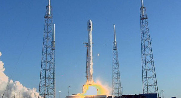 Planet-hunting satellite launches from Cape Canaveral