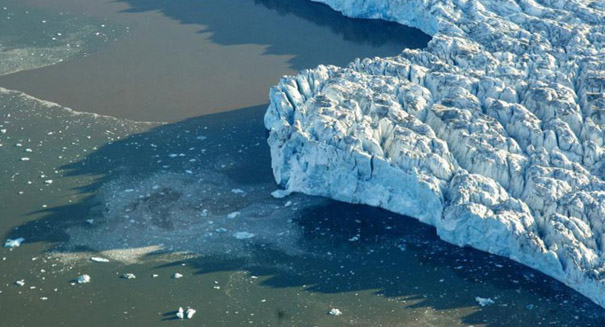 Research suggests melting glaciers are fuelling climate change