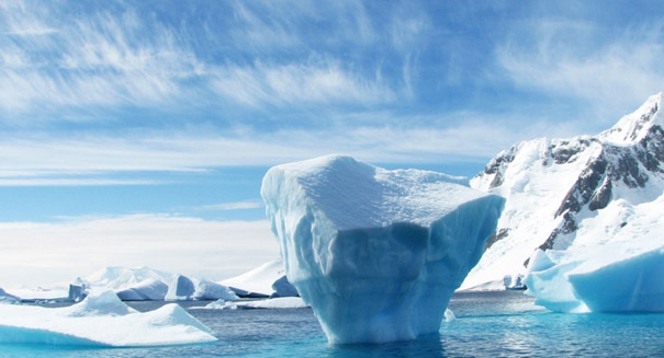 Researchers discover giant canyons in Antarctica's South Pole