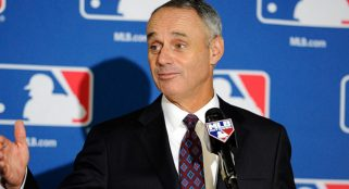 Rob Manfred praises new Braves park