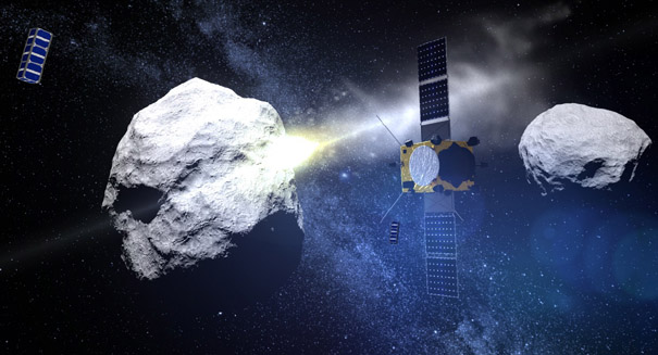 Scientists design 'conceptual spacecraft' for potential asteroid strike