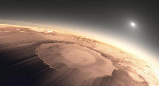 Scientists recreate gravity of Mars in Earth's sky