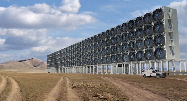 Siphoning carbon dioxide from the air is less expensive than scientists thought