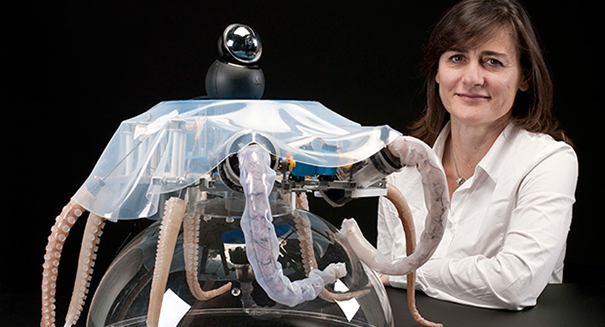 Soft robotics draws inspiration from Octopus