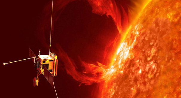 Huge solar flare causes radio blackouts