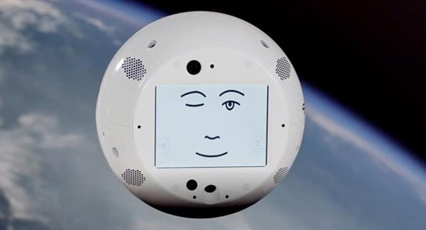 SpaceX launches flying robot head to befriend and spy on astronauts