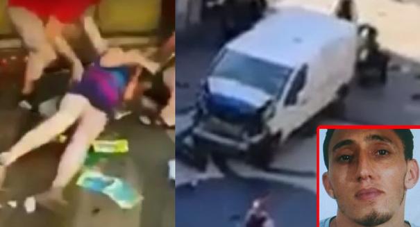 Terrorist van attack in Barcelona leaves 13 dead, many injured