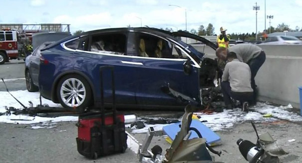 Tesla involved in another autopilot accident