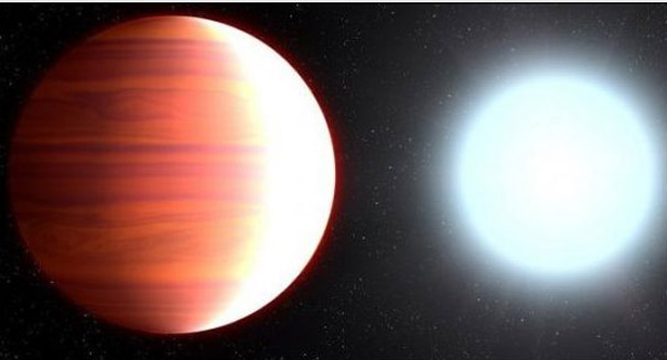 Titanium dioxide, ingredient in sunscreen, falls as snow on hot exoplanet