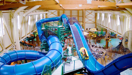 The Most Incredible Indoor Water Parks