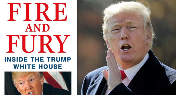White House criticism of 'Fire and Fury' driving book sales