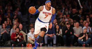 Carmelo Anthony is willing to listen to trade talks