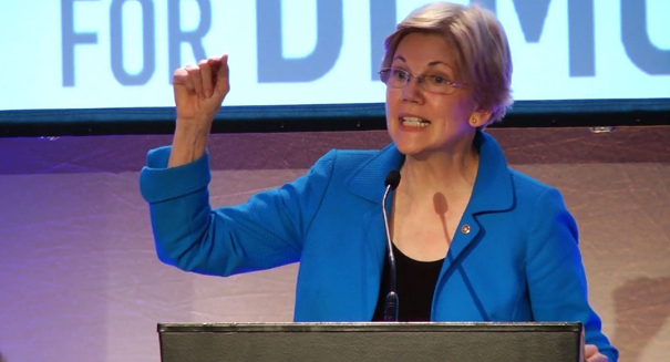 Elizabeth Warren continues her attack on Trump